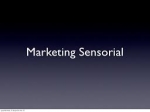PALESTRA  SEBRAE  - MARKETING SENSORIAL