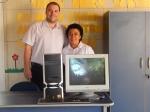 ACEG doa móveis e computadores para o Educandário