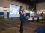 A presidente da Aceg  esteve na Escola Etec de Guararapes  participando da Semana do Administrador de Empresas